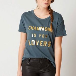 Amuse society, Champaign is for lovers tee. XL